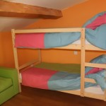 Chambre enfant - Lit superposé | Gîte les Anciennes Écuries