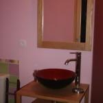 Salle de bain - Chambre romantique | Gîte les Anciennes Écuries
