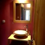 Salle de bain - Chambre double | Gîte les Anciennes Écuries